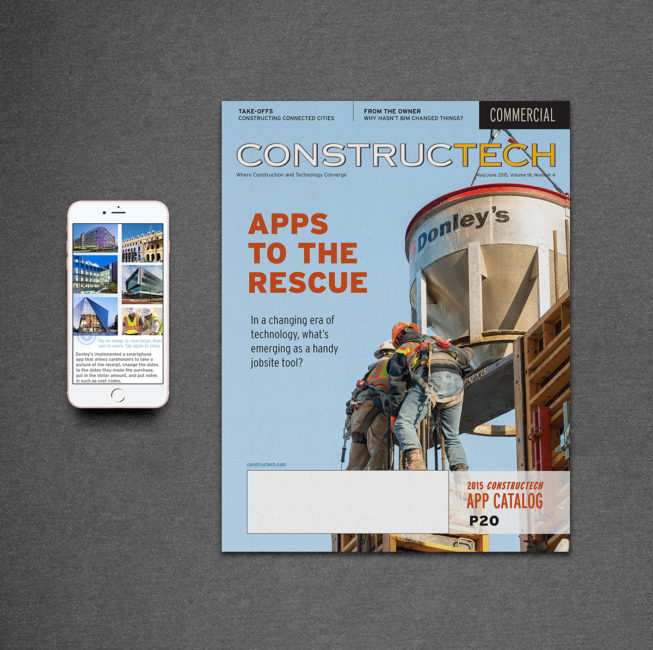 Print edition and companion iPhone app