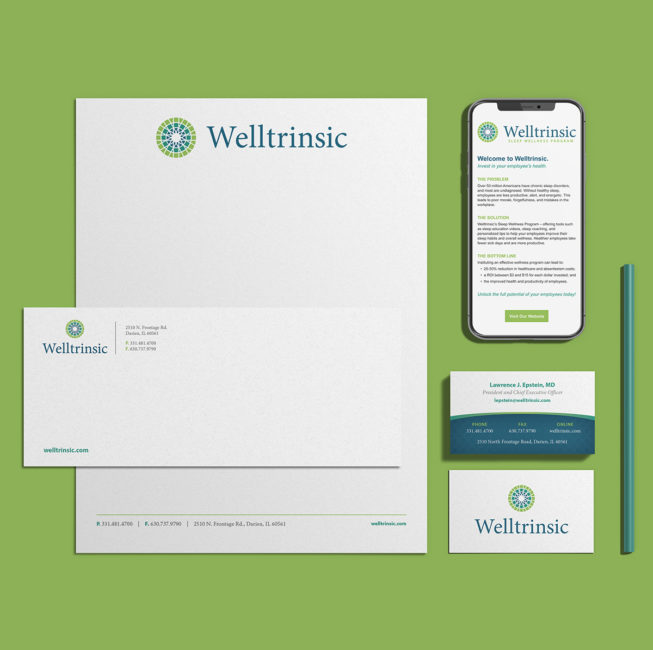 Welltrinsic Stationary and Email Template